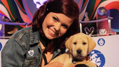 Blue Peter - Iggy the new Blue Peter puppy