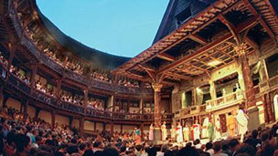 Blue Peter - Shakespeare's Globe Exhibition