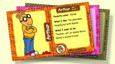 Arthur - Arthur Trading Cards