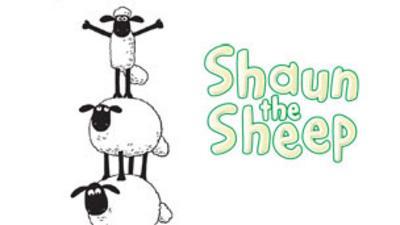 Shaun the Sheep - Sheep Tower Colour In