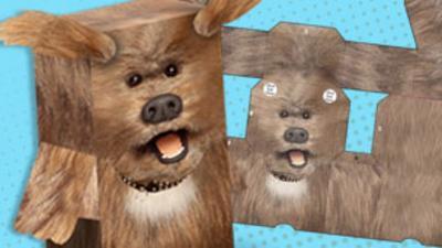 CBBC Office - Dodge T. Dog Foldee