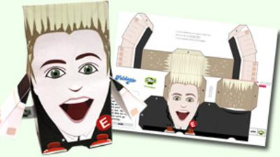 Jedward's Big Adventure - Team Edward Foldee