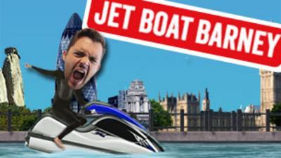 Blue Peter - Jet Boat Barney