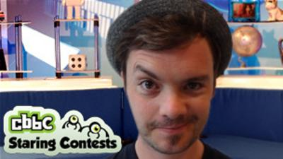 Blue Peter - Staring Contest: Barney Harwood