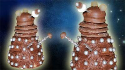 Blue Peter - How to Make Dalek Cupcakes