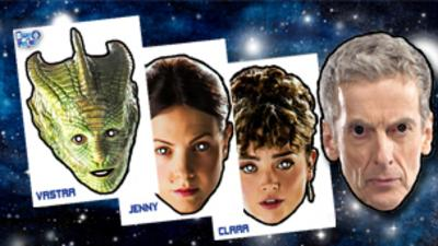 Blue Peter - Make your own Doctor Who masks