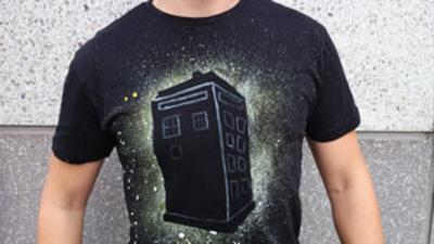 Blue Peter - Make your own Doctor Who T-shirt