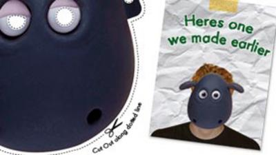 Shaun the Sheep - Shirley the Sheep Face Mask