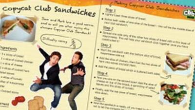 Copycats - CBBC Cook Book: Copycats Club Sandwiches