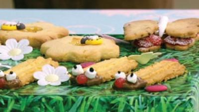 Junior Bake Off - Junior Bake Off Bug Biscuit Display Recipe