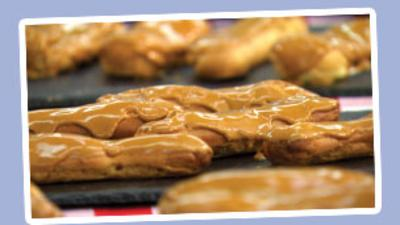 Junior Bake Off - Junior Bake Off Coffee Eclair Recipe