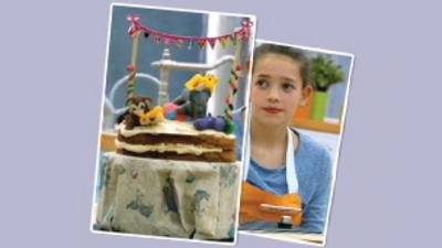 Junior Bake Off - Junior Bake Off Carnival Cake Recipe