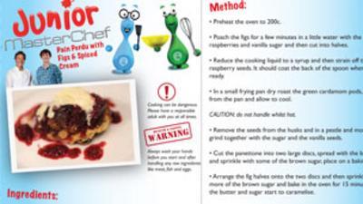 Junior MasterChef - Pain Perdu with Figs Recipe