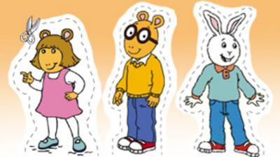 Arthur - Arthur Paper Pals