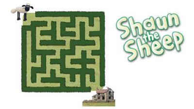 Shaun the Sheep - Shaun The Sheep Maze