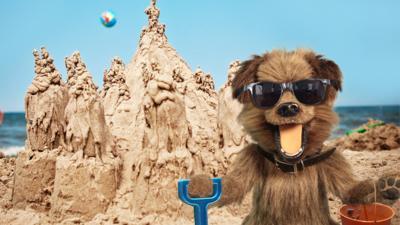 CBBC Office - Send us your sand castles!