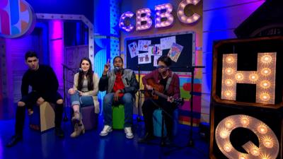 CBBC HQ - Lost & Found acoustic performance at CBBC HQ