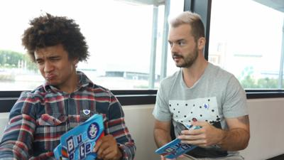 Blue Peter - UNSEEN: Radzi and Barney's Next Step audition