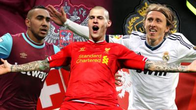 MOTD Kickabout - Quiz: Match the Euro player to the team