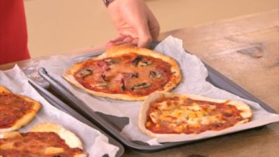 CBBC Dish Up - How to make home-made pizza