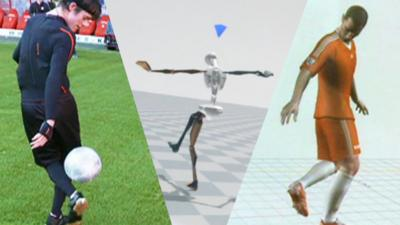 MOTD Kickabout - Turning football skills into video game moves