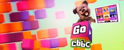Go CBBC. Hacker with the Go CBBC app on a tablet.