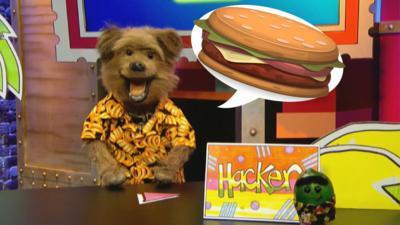 CBBC Dish Up - National Burger Day: Hacker's Favourite Burger