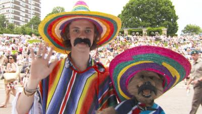 CBBC Office - Wimbledon Tips: Mexican Wave
