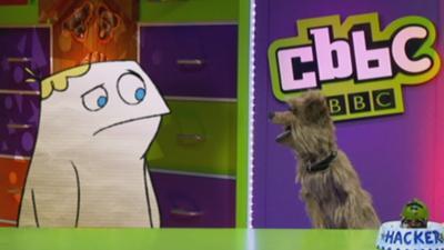 CBBC Office - Hacker meets Roy