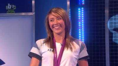 Blue Peter - Olympic star Jade Jones on Blue Peter