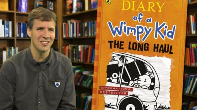 Blue Peter - Book Review: Diary of a Wimpy Kid -The Long Haul