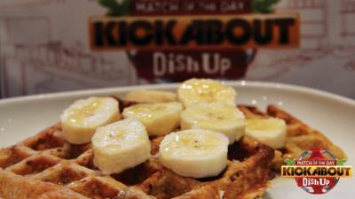 MOTD Kickabout - Oatilicious Banana Waffles