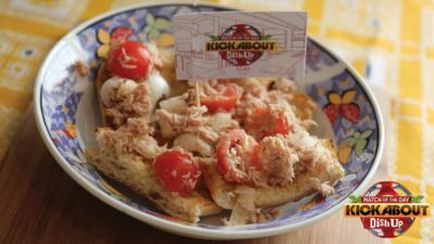 MOTD Kickabout - Tuna and Tomato Bruschetta Bites