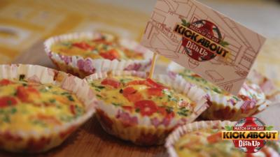 CBBC Dish Up - Cupcake Omelettes with Red Pepper and Chive