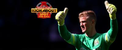 Joe Hart and the Kickabout logo.
