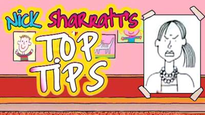 Tracy Beaker Returns - Nick Sharratt's Top Tips: Angry Characters