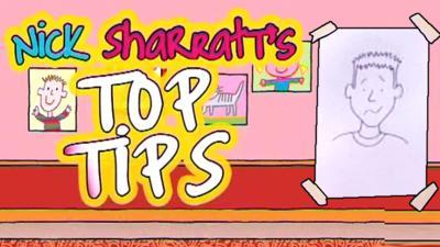 Tracy Beaker Returns - Nick Sharratt's Top Tips: Puzzled Characters