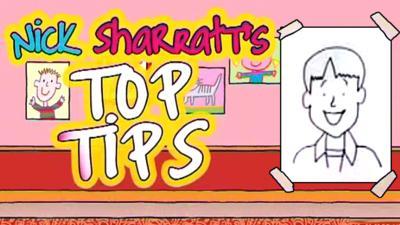 Tracy Beaker Returns - Nick Sharratt's Top Tips: Happy Characters