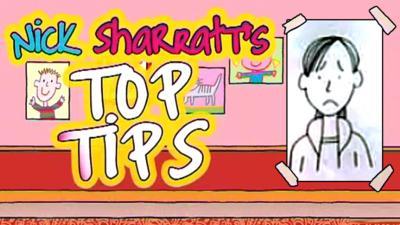 Tracy Beaker Returns - Nick Sharratt's Top Tips: Sad Characters