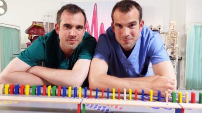 Operation Ouch! - Dr Chris and Dr Xand are having a Nerve Race