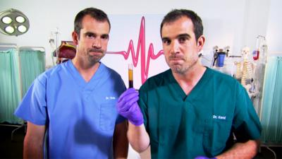 Operation Ouch! - Dr Chris finds out what's in his blood