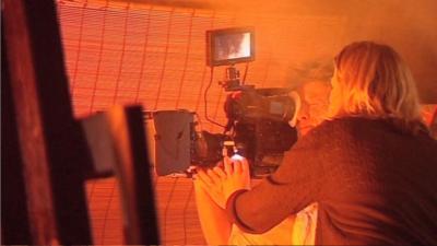 Tracy Beaker Returns - Backstage on a Tracy Beaker Fire Stunt