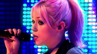 Blue Peter - Amelia Lily Performs Shut Up