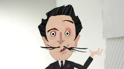 TOTALLY RUBBISH - Totally Famous: Salvador Dali
