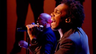 Sam & Mark's Big Friday Wind-Up  - Lemar Live Performance