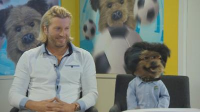 Hacker Time  - Hacker meets Robbie Savage