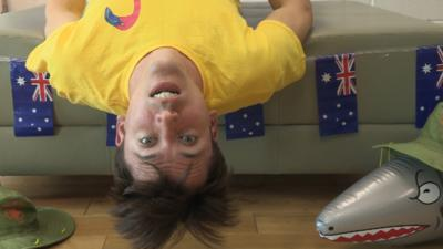 All Over the Place Europe - Ed's Upside Down Challenge