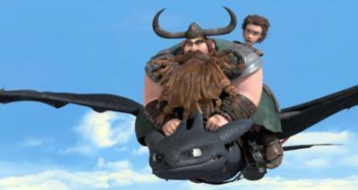 Dragons - Defenders of Berk - Stoik takes the reins