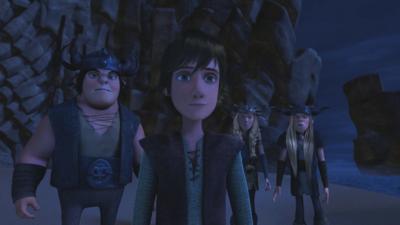 Dragons - Defenders of Berk - Astrid Sets Sail