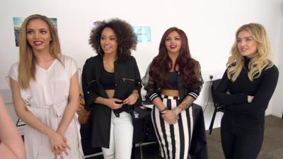 Friday Download - Harvey goes backstage with Little Mix